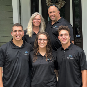 Marchese family photo - custom home builders